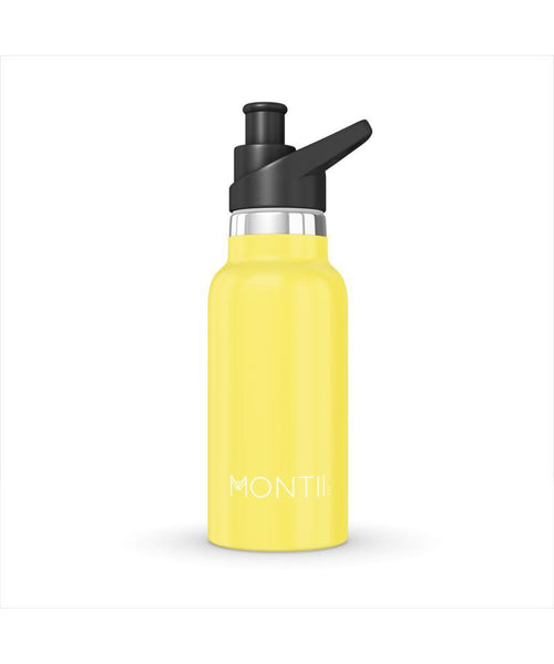 Montii Yellow Mini Water Bottle