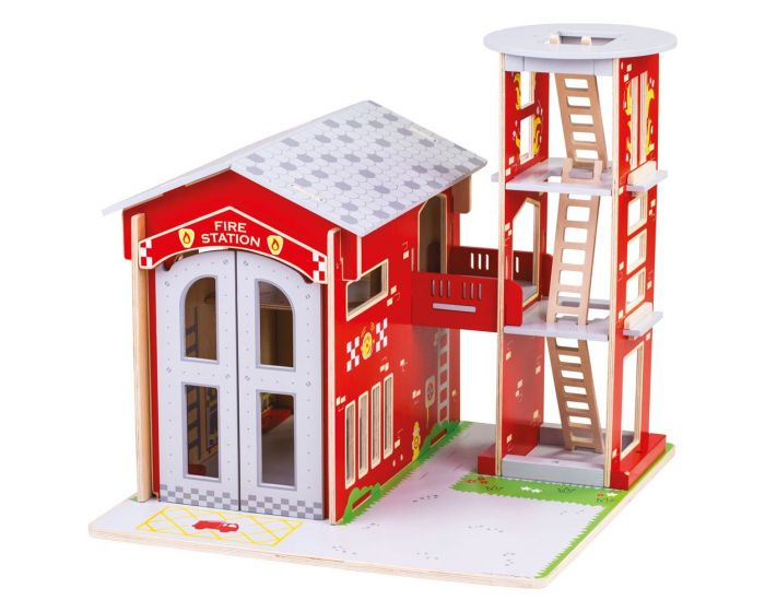 Bigjigs City Fire Station