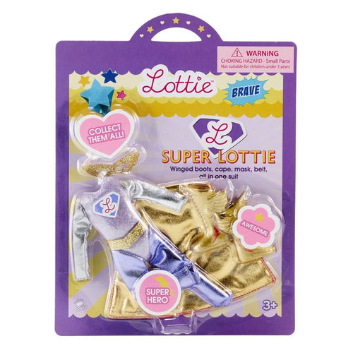 Lottie Doll Superhero Outfit Set