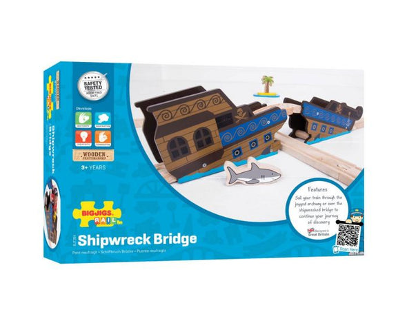 Bigjigs Shipwreck Bridge