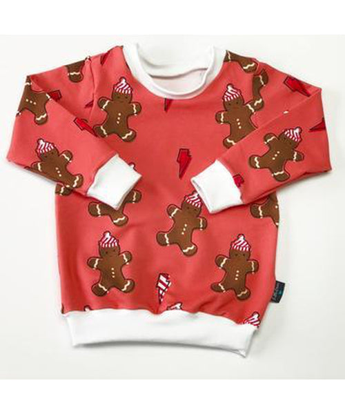 Little Loves Cornwall Gingerbread Jumper - Adult Sizes