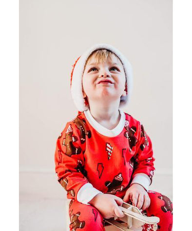 Little Loves Cornwall Gingerbread Jumper