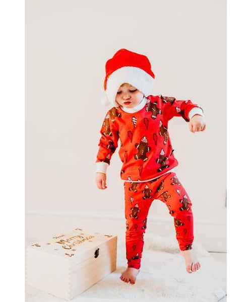 Little Loves Cornwall Gingerbread Leggings