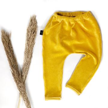 Little Loves Cornwall Mustard Cord Chinos