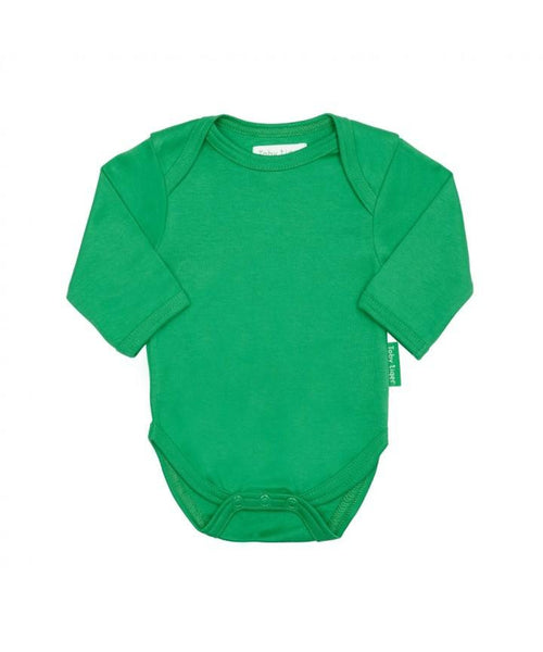 Toby Tiger Green Long Sleeved Bodysuit