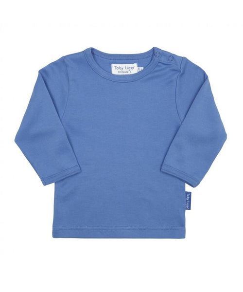 Toby Tiger Blue Long Sleeved Top
