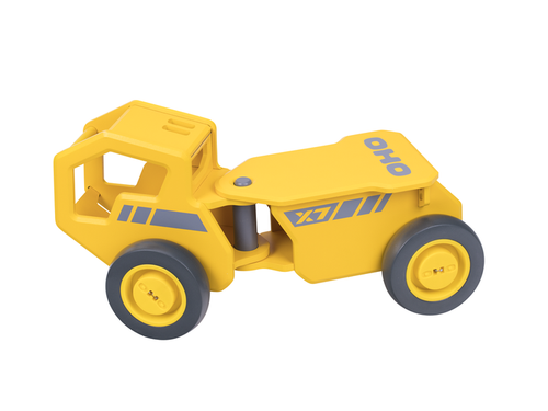 Moover Yellow Ride-On Dump Truck