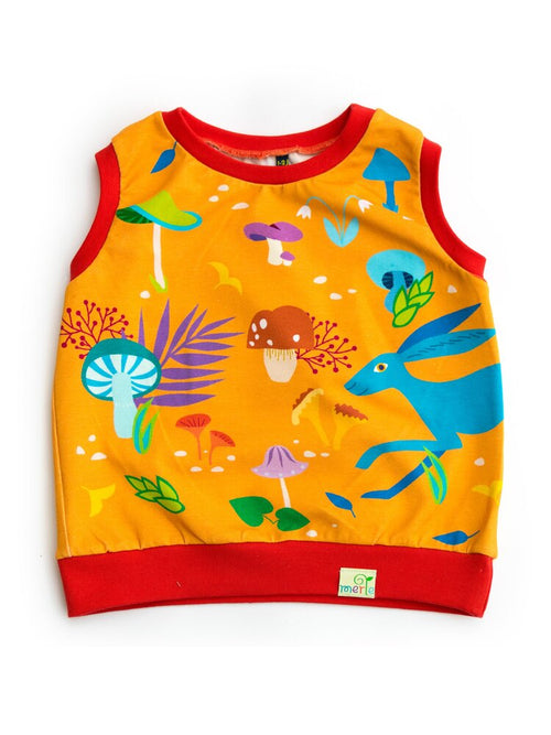 Merle Kids The Hare And The Mushrooms Tank Top