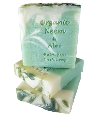 Palm Free Irish Soap Bar Organic Neem and Aloe