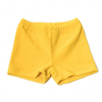 Onnolulu Yellow Velour Ben Shorts