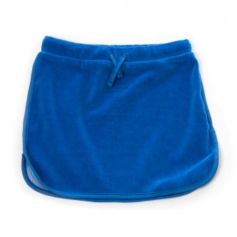 Onnolulu Blue Velour Lux Skirt