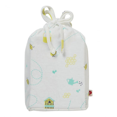 Piccalilly Honey Bee Moses Basket Cot Sheet