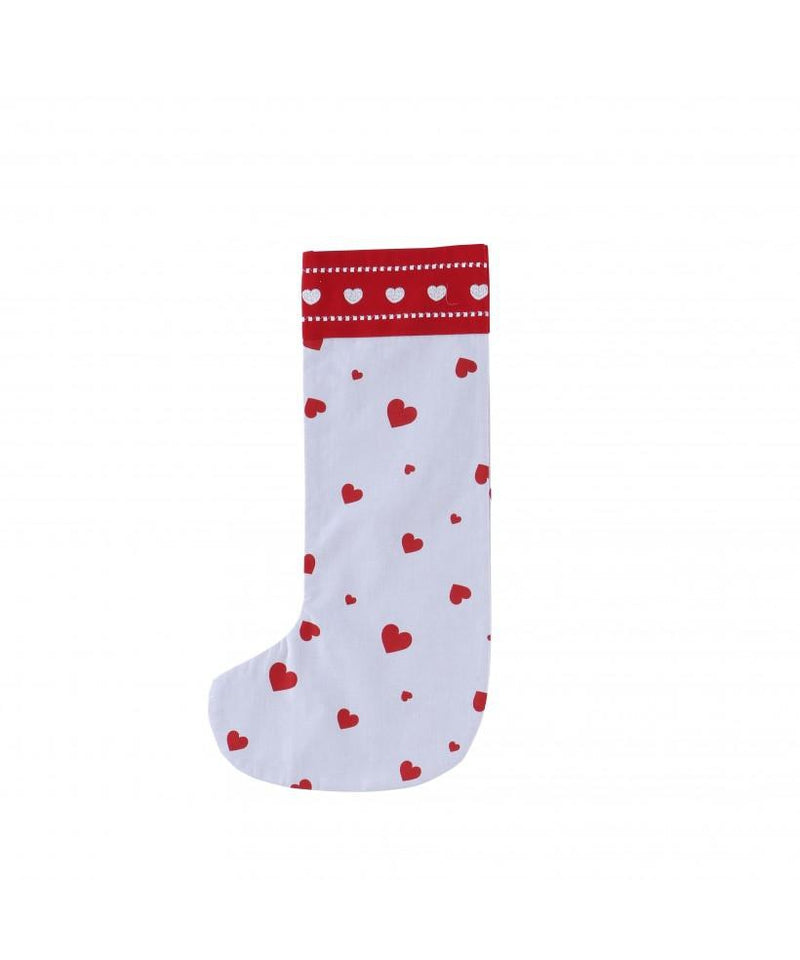 Piccalilly Heart Christmas Stocking