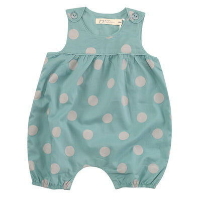 Pigeon Organics Pebble Small Spot Baby Playsuit