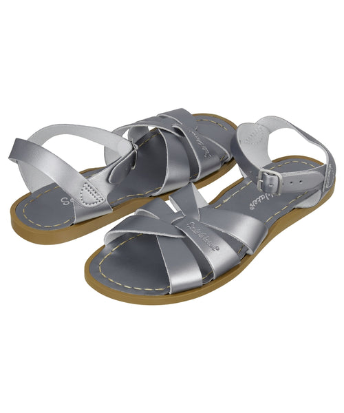 Salt-Water Sandals Original Pewter - adult