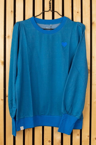 Alba All I Adore Adult Sweatshirt for a Cosy Day Blue Sapphire