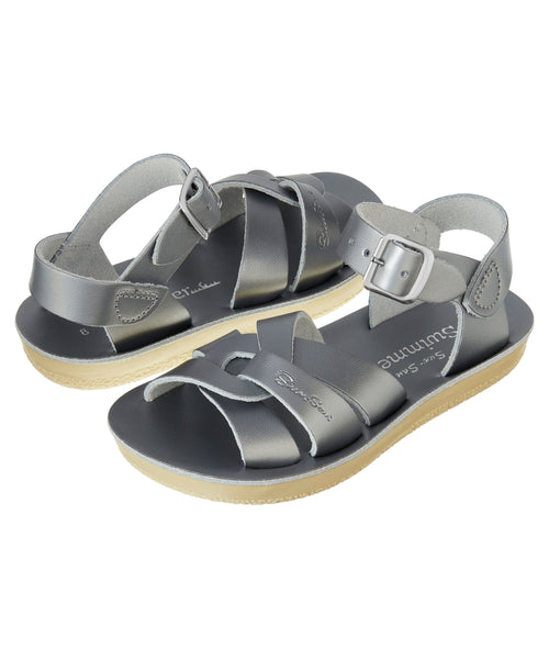 Salt-Water Sandals Swimmer Pewter - child