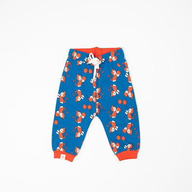 Alba Lucca Baby Pants - Snorkel Blue The Cat and Balloon