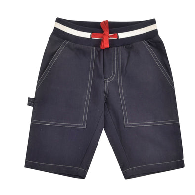 Pigeon Organics Navy Painter Shorts