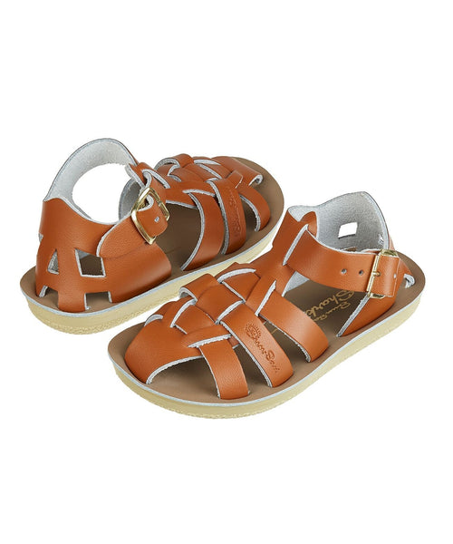 Salt-Water Sandals Shark Tan - child