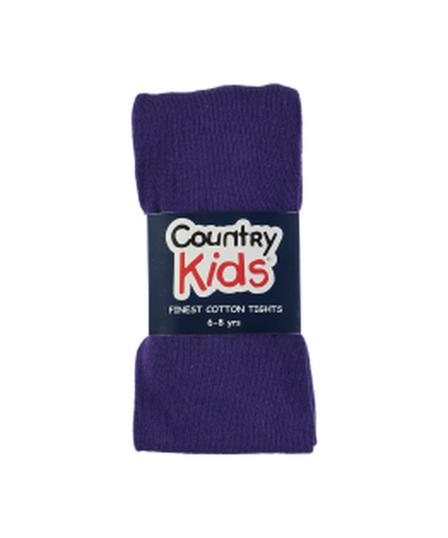 Country Kids Purple Tights