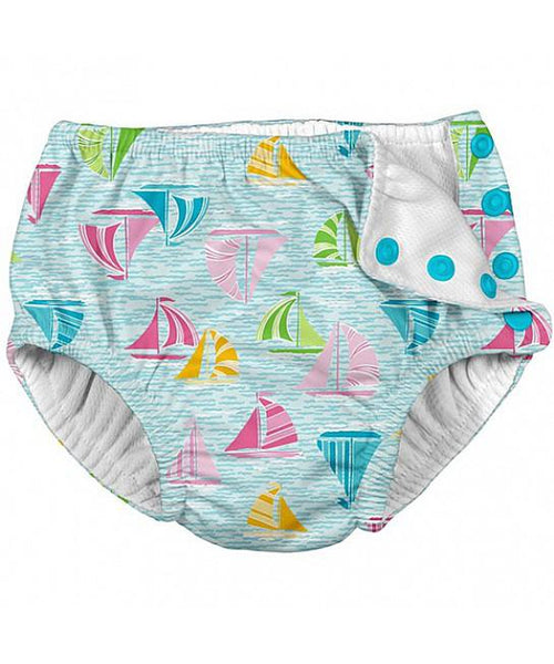 iPlay Aqua Sailboat Sea Reusable Swim Nappy