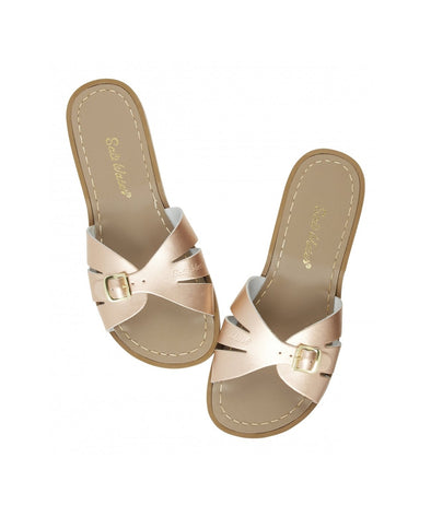 Salt-Water Sandals Classic Slide Rose Gold  - adult