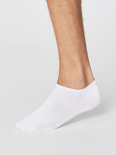 Thought Ashley White Trainer Socks