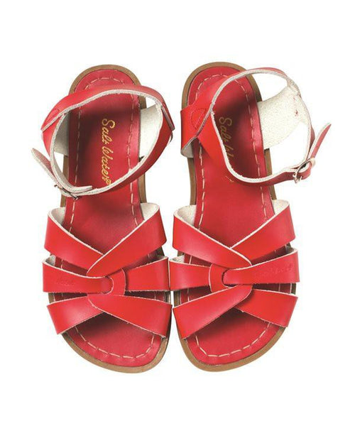 Salt-Water Sandals Original Red - child