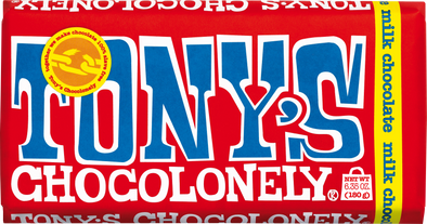 Tony's Chocolonely Milk Chocolate 32% 180g