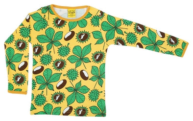 DUNS Daffodil Yellow Chestnut Long Sleeved Top - Adult Sizes