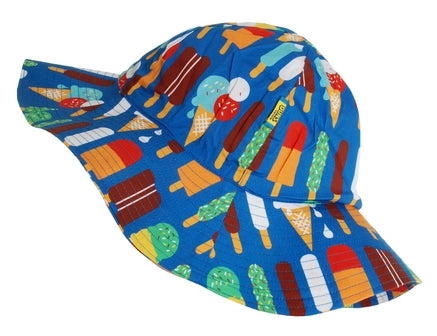 DUNS Ice Cream Blue Sun Hat