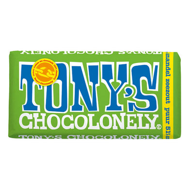 Tony's Chocolonely Dark Almond Sea Salt 180g
