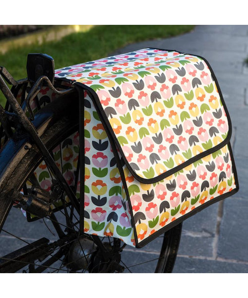 Rex of London Tulip Bloom Bicycle Pannier