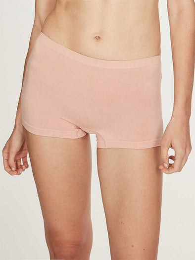 Thought Recycled Nylon Seamless Boy Briefs - Blush