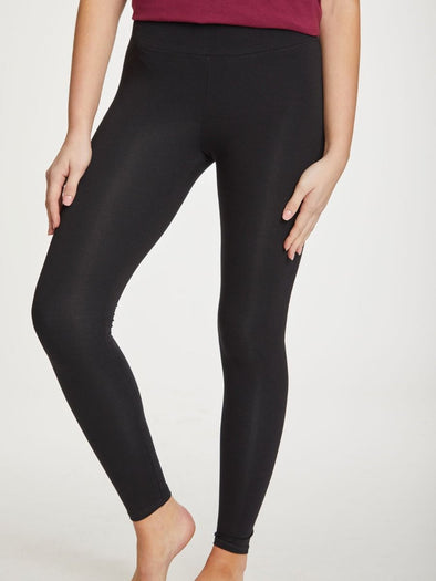 Thought Bamboo Base Layer Leggings - Black WWB3188