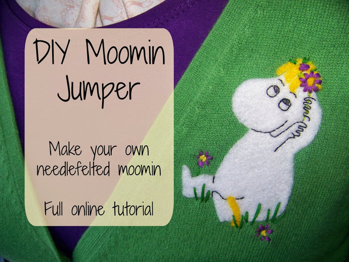 How to Make a Custom Moomin Cardigan