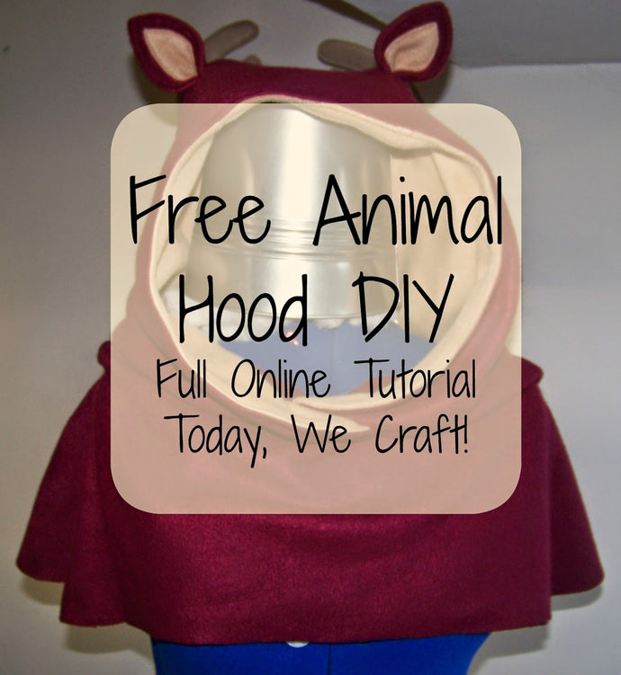 How to make a Fleece Animal Hood