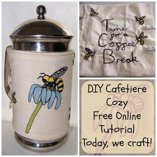 How to Make a Cafetiere Cozy