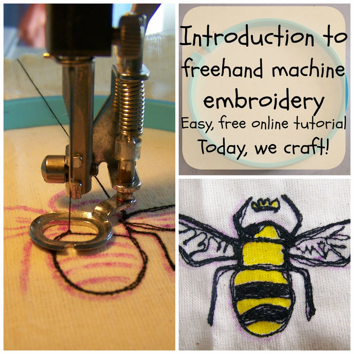 Introduction to Freehand Machine Embroidery