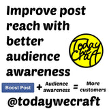 Improve the effectiveness of your boosted posts on Facebook with audience awareness
