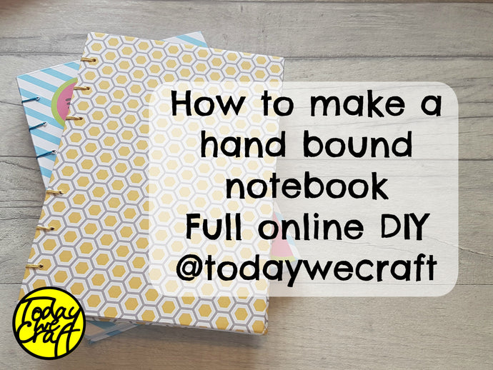 How to Make a Hand Bound Notebook - Video