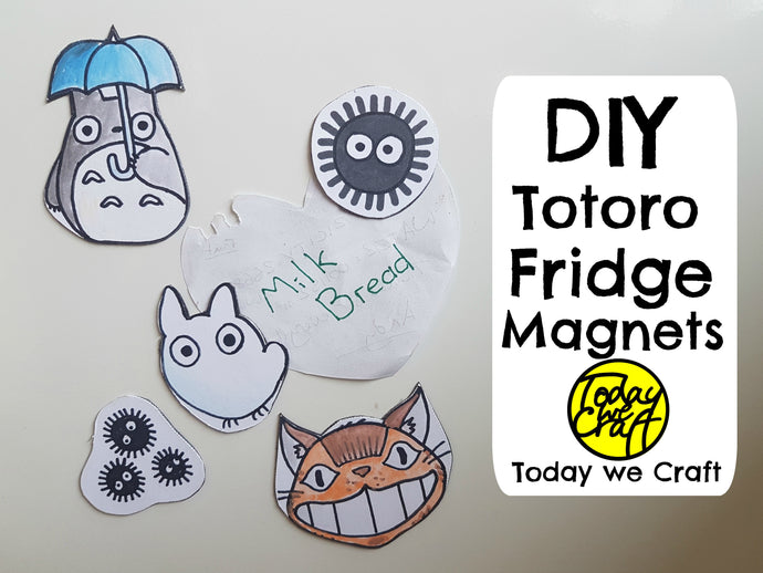 Totoro Fridge Magnets
