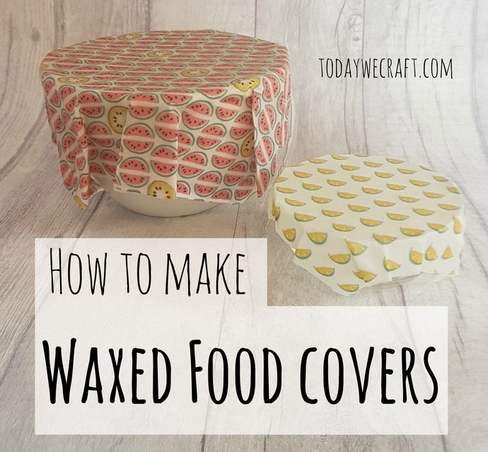How to make waxed food covers