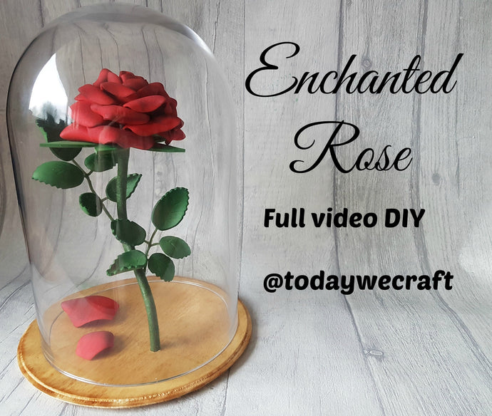 How to Make an Enchanted Rose from Beauty and the Beast - Video