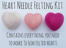 Heart Needle Felting Kit
