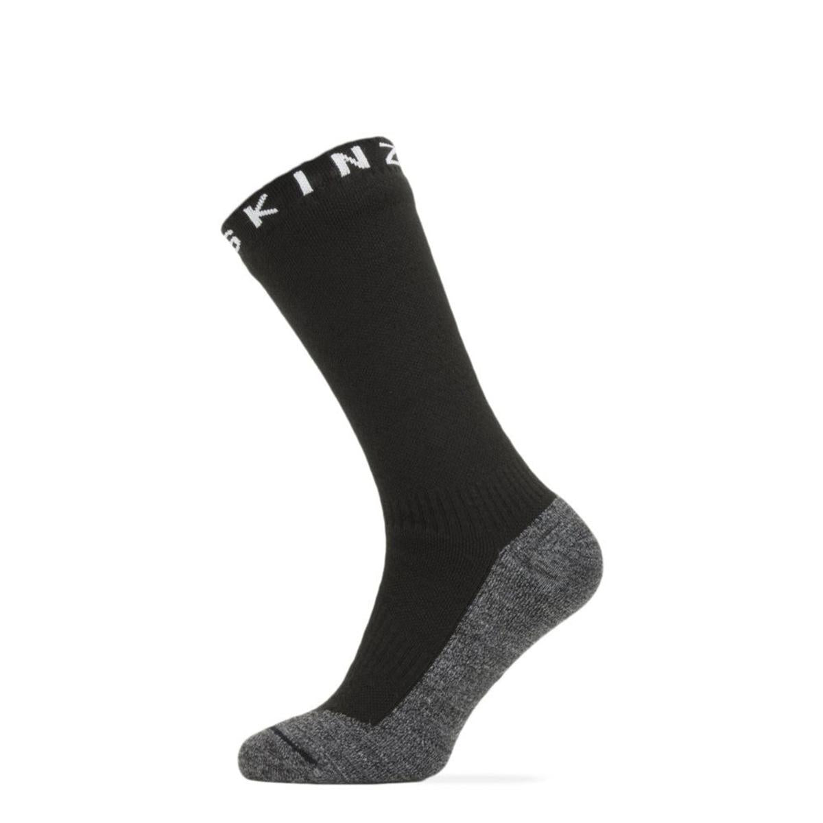 SealSkinz Men's Waterproof Warm Weather Soft Touch Mid Length Socks