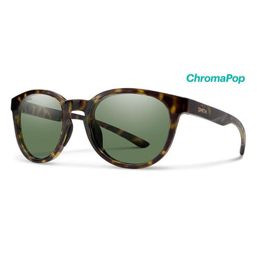Smith Optics Eastbank Chromapop Polarized Gray Green - Vintage Tort Frame