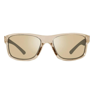 Revo Unisex Harness Wraparound Sunglasses Champagne Lens - Crystal Sand Frame