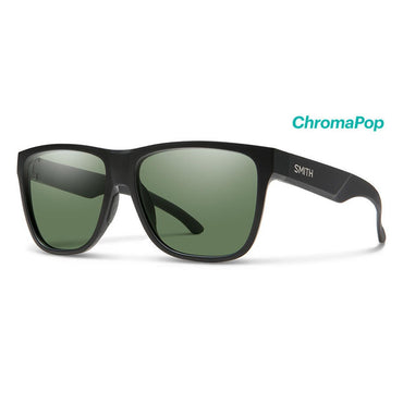 Smith Optics Lowdown XL 2 Sunglasses Chromapop Polarized Gray Green - Matte Black Frame